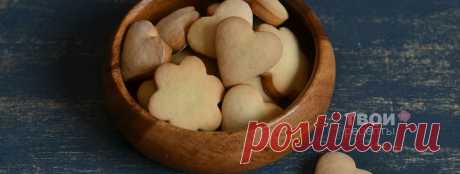 Сахарное печенье - вкусный рецепт с пошаговым фото