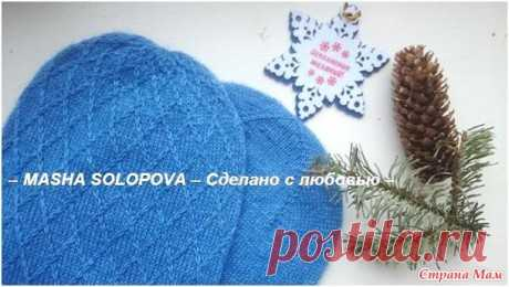 Двойная шапка спицами, Вязание для детей