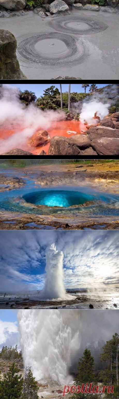 (+1) тема - Самые известные гейзерные поля мир | Среда обитания