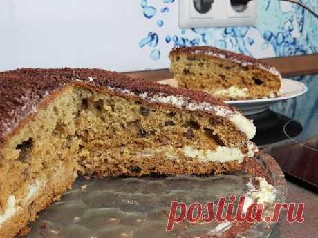 "Торт ""Трухлявый пень"" без сахара !!!"