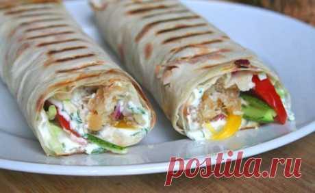 Home-made shawarma \/ Simple recipes