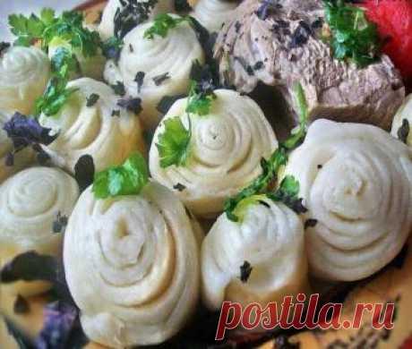 Ханум с капустой и фаршем - рецепт приготовления с пошаговыми фото