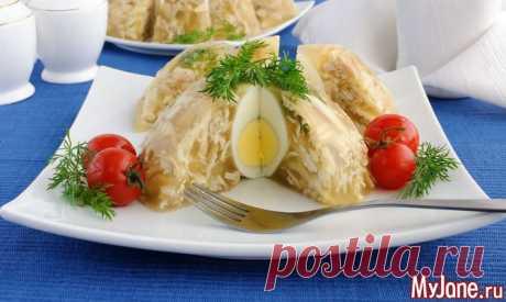 Готовим куриный холодец - курица, холодец, желатин, рецепты