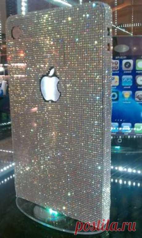 IPhone Case Bling Luxurious Gem Diamond Case For iPhone 4 Case iPhone 4S Case iphone 4/4S case IPhone 5 Case   Judy A. Thiel