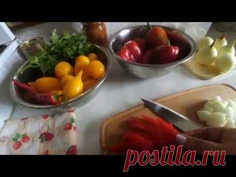 СОУС- САЛАТ з болгарського перцю.