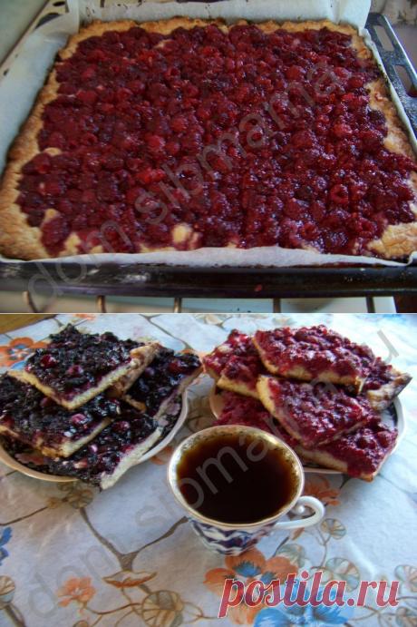 Дачный чай с ягодными пирогами - Пироги и пирожки