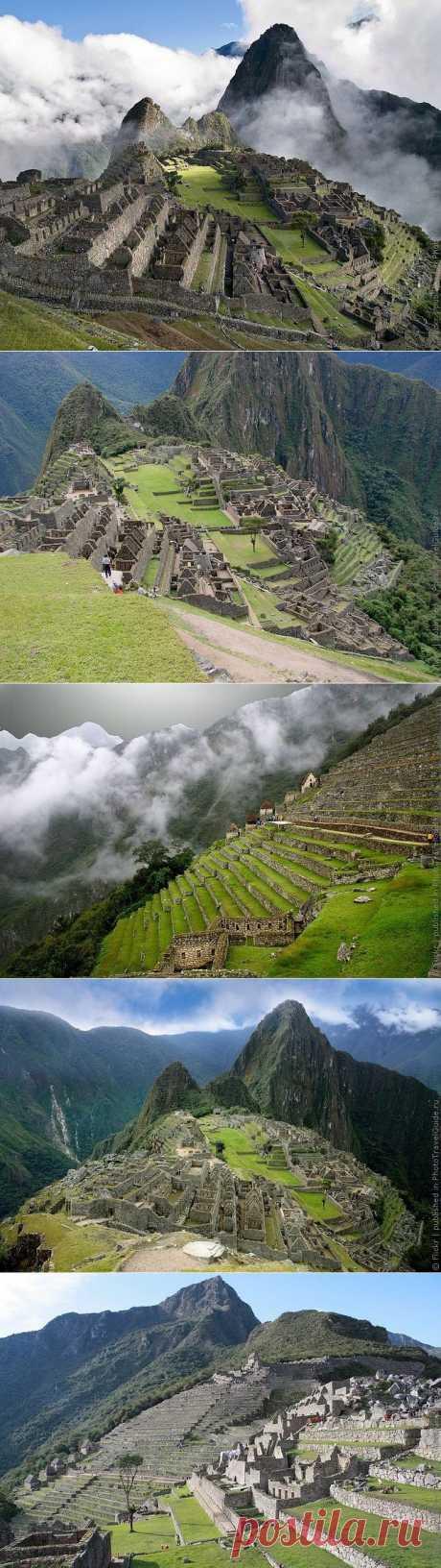 Мачу Пикчу - город инков, фото и история города