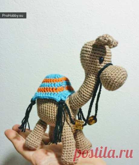 Верблюд крючком / Вязание игрушек / ProHobby.su | Вязание игрушек спицами и крючком для начинающих, мастер классы, схемы вязания