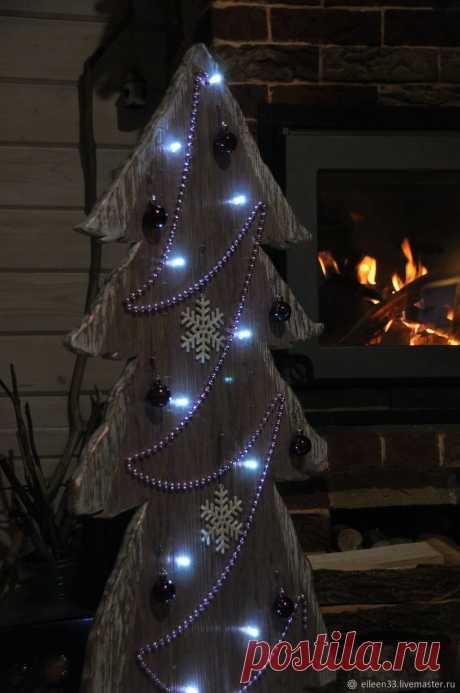 Новогодняя ёлка.Сказочное Настроение – купить в интернет-магазине на Ярмарке Мастеров с доставкой - HB197RU | Москва