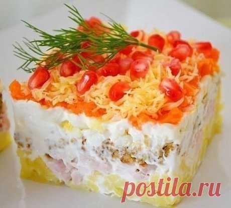 Салат осень . — Sloosh – кулинарные рецепты