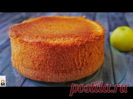 Очень Пышный  и Высокий БИСКВИТ | Sponge Cake Recipe