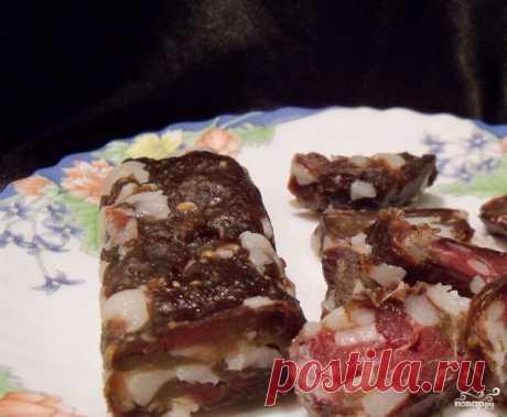 Домашняя колбаса без кишок!..