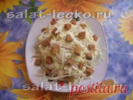 Рецепт простого куриного салата