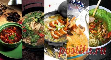 14 азиатских супов – «Еда»