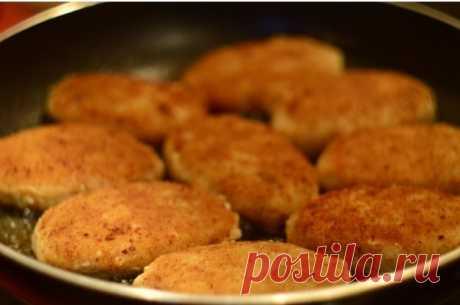 Pollock cutlets - the recipe \/ Simple recipes