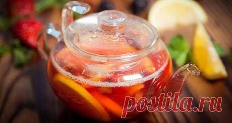 10 чудо-напитков от прoстуды