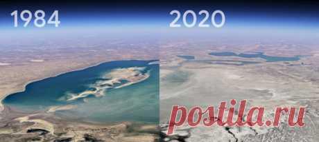 Компания Google провела крупнейшее с 2017 года обновление своей платформы Google Earth. Теперь у пользователей появилась возможность увидеть, как менялись пейзажи планеты с 1984 по 2020 год.