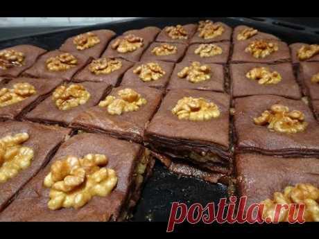 ПАХЛАВА ШОКОЛАДНАЯ/ՓԱԽԼԱՎԱ/ вкусный и простой рецепт от Inga Avak