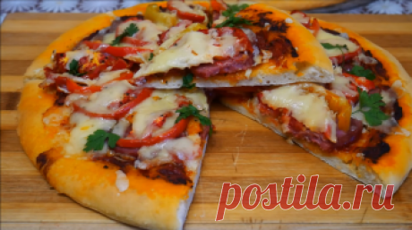 How to make tasty home-made pizza in an oven