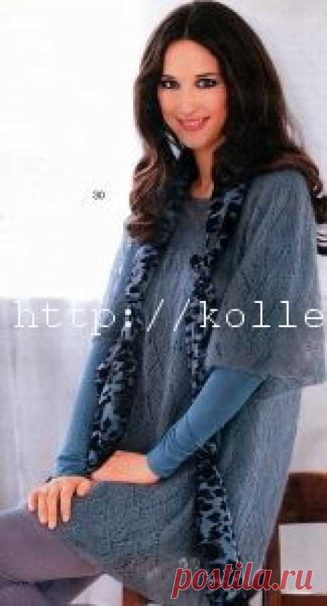 Вязаный пуловер спицами | Своими руками — интернет журнал