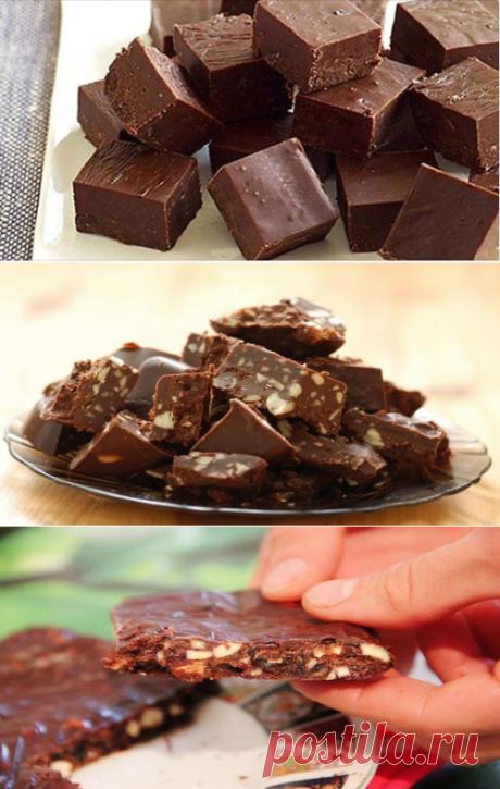 Домашний шоколад — лакомство за 10 минут