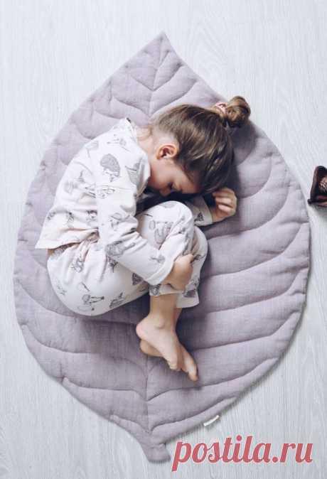 Коврики и пледы для деток: идеи — Сделай сам, идеи для творчества - DIY Ideas
