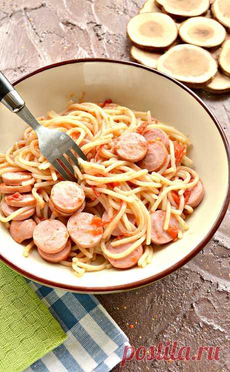 Спагетти - рецепты для тех кто любит Пасту