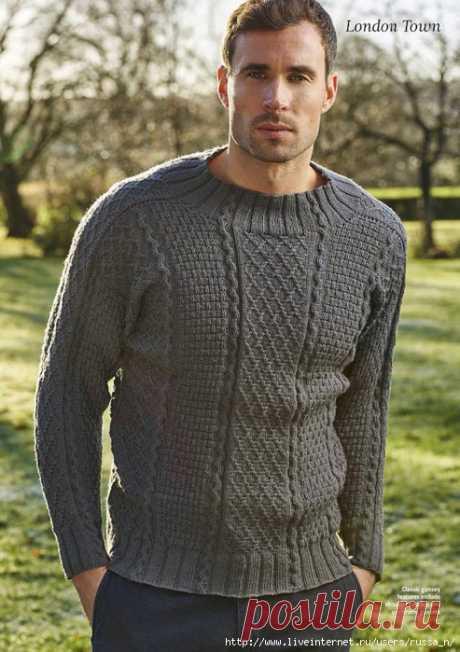 "Мужской пуловер ""London Town"""