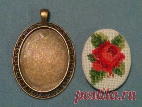 Подборка схем-миниатюр для вышивки украшений