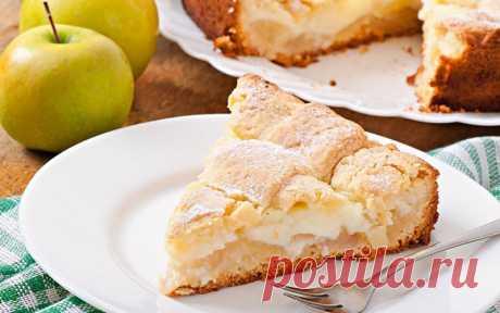 Яблочный пирог с заварным кремом. Бесподобный, ароматный и нежный десерт. Если кто-то не пробовал пирог с заварным кремом и яблоками – советую...