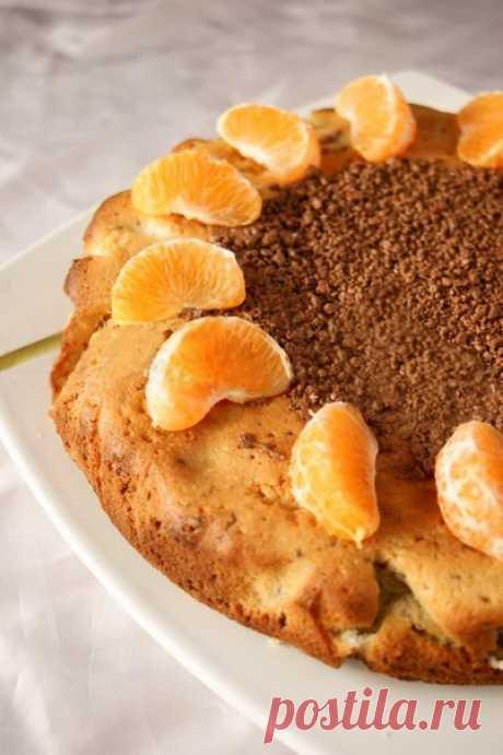 Пирог с мандаринами и шоколадом / Восприятие бизнеса