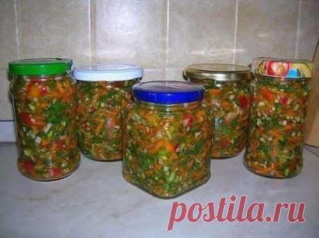 Самая вкусная заправка для борща, супа и других блюд - вкусно и выгодно!  Все ингредиенты растут на ваших грядках. Попробуйте, очень вкусно и выгодно. Ничего не пропадает - все в дело идет!  При засолке овощей и зелени они сохраняют много витаминов до весны. Я давно делаю …