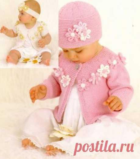 Поиск на Постиле: кофточки спицами для девочек