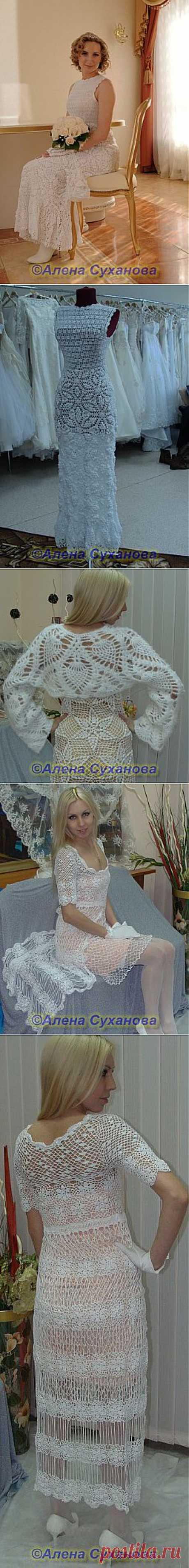Свадебные платья крючком.Моя коллекция | РУКОДЕЛИЕ