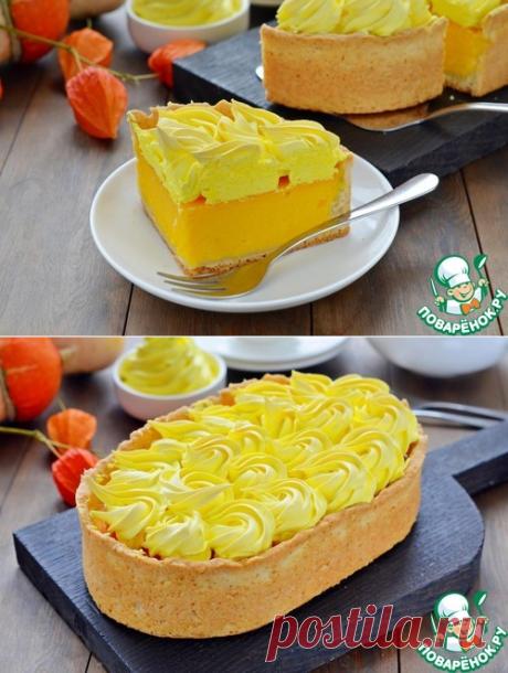 Тыквенный пирог с безе – кулинарный рецепт