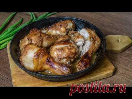 Куриные голени в пикантном маринаде