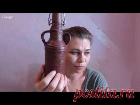 Оксана Демикова. Имитация глиняных сосудов.