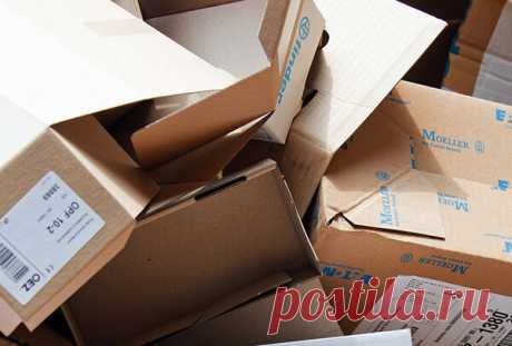 Картоные коробки как часть производства. Не торопитесь выбрасывать, из них можно делать хорошие штуки!   Творим своими руками   Яндекс Дзен