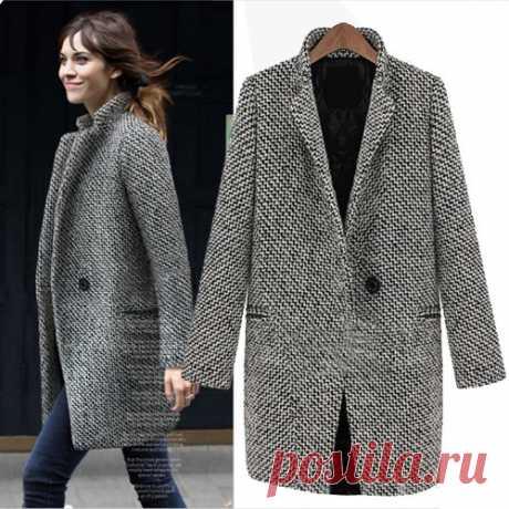 Выкройка делового пальто Модная одежда и дизайн интерьера своими руками