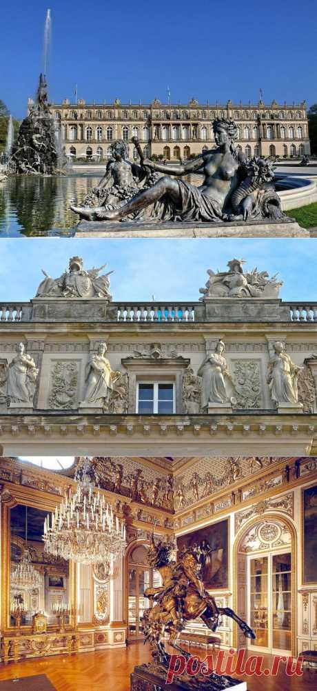 Замок Херренкимзее - баварский Версаль.   Искусство