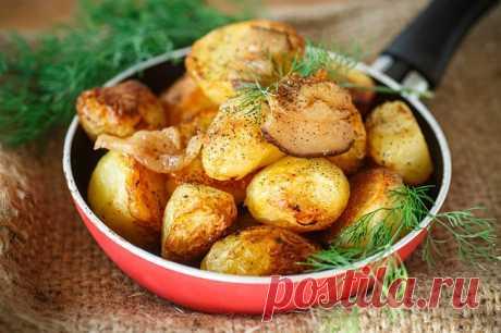 Картошка в банке в духовке - После этого рецепта, семьи отказываются варить и жарить картофель   Вкусные и Простые Рецепты