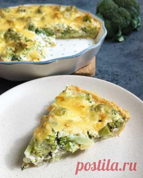 Киш с брокколи и сыром | Блог кондитера YellowMixer.com