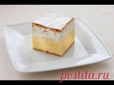 Кремшниты - воздушные пирожные по рецепту из Бледа ·