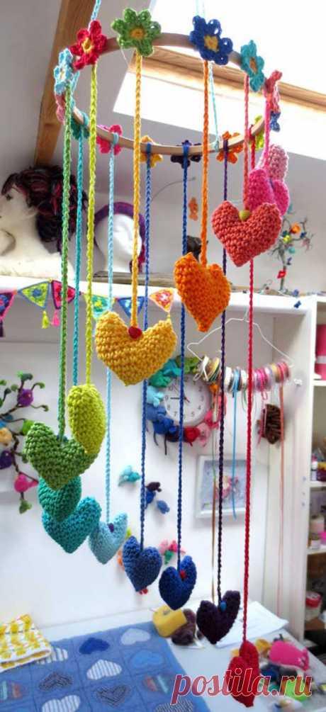 Симпатичные идеи по вязанию крючком, которые сделают ваш дом уютнее