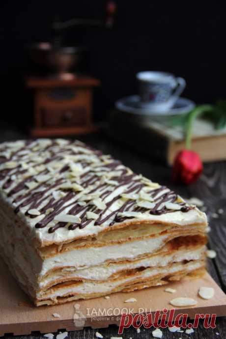 Торт «Эклер» (самый вкусный) — рецепт с фото пошагово