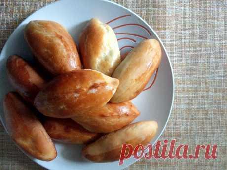 Очень нежные и мягкие пирожки с картошкой. | Когда папа повар | Яндекс Дзен
