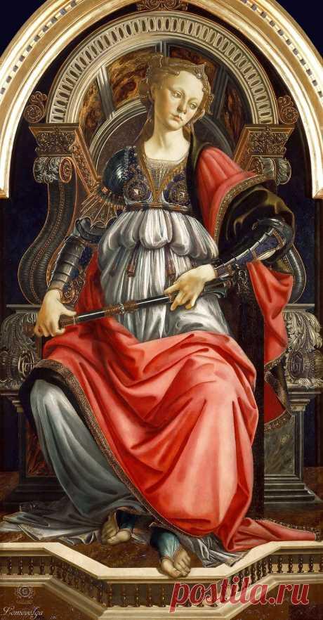 Sandro Botticelli (Сандро Боттичелли, 1445-1510, Florence) и мастерская