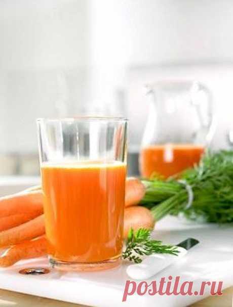 Овощные соки для поддержания тонуса и здоровья