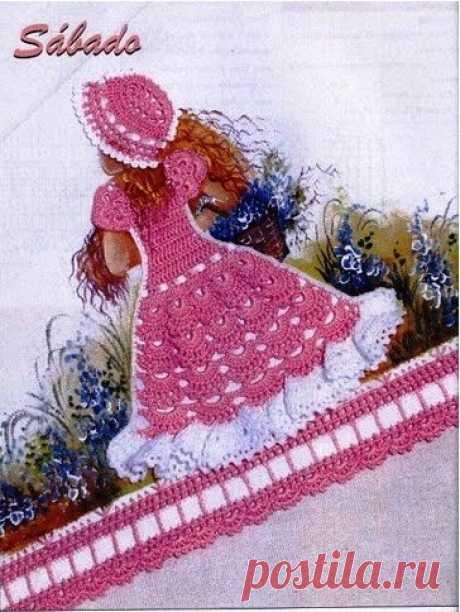 Crochet Doll Dress Applique Patterns ⋆ Crochet Kingdom Crochet Doll Dress Applique Patterns. More Patterns Like This!