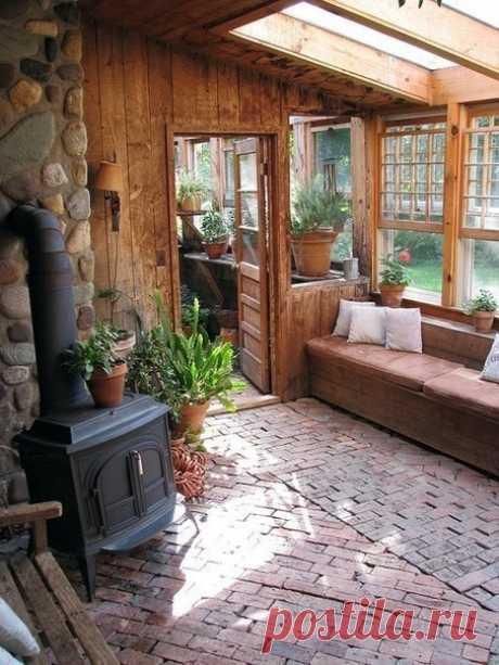 Очаровательные веранды - Дизайн интерьеров   Идеи вашего дома   Lodgers